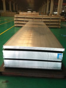 Aluminum 7075-O Sheet / Plate used in aerospace applications