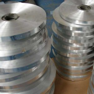 1235-O aluminum strip to create a secure anti-theft label