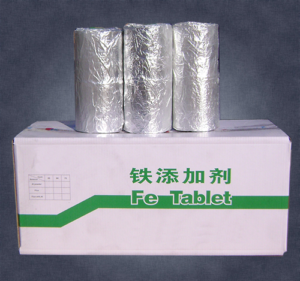 aluminum alloy iron additive tablets